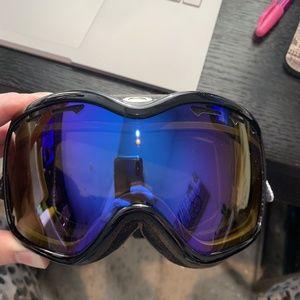 Oakley Stockholm Wmns Goggle Black HI Persimmons
